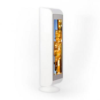 Power Bank + LED advertising and selfie function